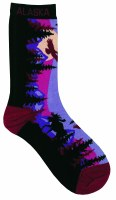 Ladies Night Sky Moose Mountain Sock