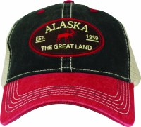 The Great Land Red Moose & Bill Ball Hat