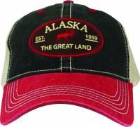 伟大的土地红麋比尔球帽