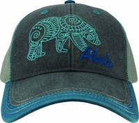 Ladies Batik Bear Ball Cap