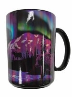 Northern Lights Alaska Mug