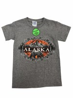 Youth Off Track Alaska Tee - XSmall