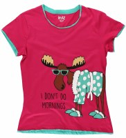 Junior Don't Do Morning's Tee - XSmall