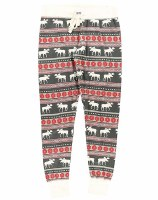 Lazy One Fair Isle Moose Leggings - XSmall