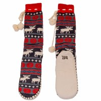 Lazy One Moose Fair Isle Mukluks - Large/XLarge