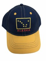 Youth Alaska Flag Patch Hat