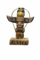 阿拉斯加的图腾饰品