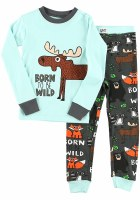 Youth Born to be Wild Long Sleeve PJ's - 2T