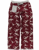 Women's Funky Moose PJ Pants - Large