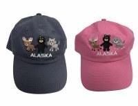 Youth 3 Alaska Animals Hat