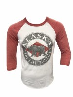 Bullet Proof Grizzly Baseball Tee - Small
