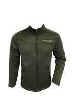 Men's Beside The Point Fleece Jacket Black - Medium