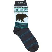 Women's Navy Bear Socks