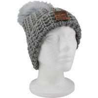Stamped Mountains Adult Knit Hat