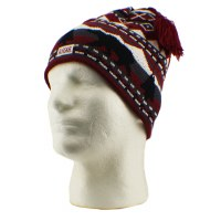 Adult Nordic Tassle Knit Hat
