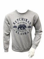 Men's Cement Grizzly Sweatshirt - Large