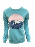 Women's Pure Bliss Mountain Sweatshirt - Large