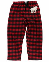 Plaid Red Pant - Small