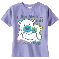Polar Bear Hugs Toddler Tee - 2T