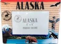 """Alaska Stamp 4""""x6"""" Picture Frame"""