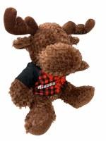 Moose in Plaid Jacket