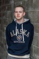 Navy Pique Alaska Hoodie - XXL