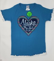 Youth Southwest Heart Alaska Tee - XSmall