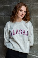 Heather Gray Alaska Sweatshirt - Large