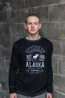 Men's Long Sleeve Ketchikan Moose Thermal - XLarge