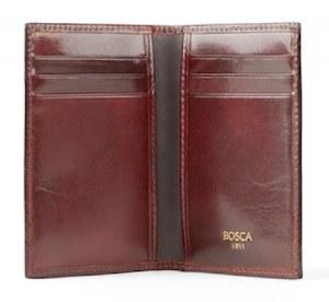 Bosca 8 Pocket Calling Card Case Model 443