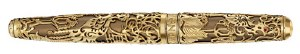 Caran D'Ache Phoenix Limited Edition Rollerball Pen in Gold
