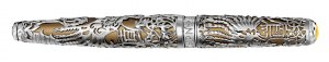 Caran D'Ache Phoenix Limited Edition Fountain Pen in Silver