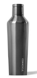 Corkcicle Canteen 16oz- Metallic Collection Gunmetal