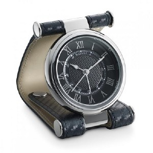 Dalvey Cavesson Clock in Black