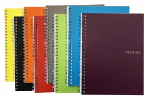 Fabriano EcoQua Coil Bound Notebook- A5 Lined