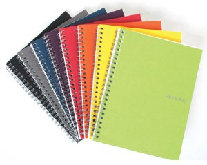 Fabriano EcoQua Spiral Bound Notebook with Ruled Paper- A4