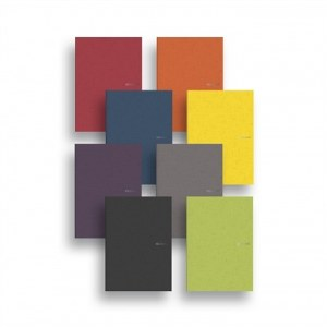 Fabriano EcoQua Large Glued Notebook with Dotted Paper- A4