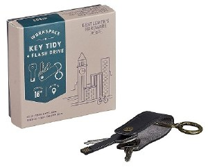 Gentleman's Hardware Key Tidy with Flash Drive 16GB