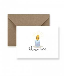 IM PAPER Blow Me Birthday Card