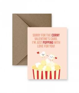 IM PAPER Corny Valentine's Day Card
