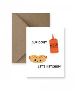 IM PAPER Sup Dog Card