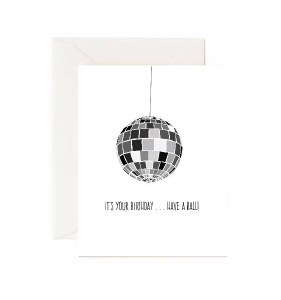 Jaybee Designs Have A Ball Birthday Card