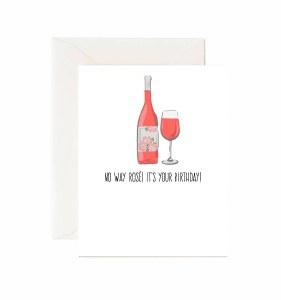 Jaybee Designs No Way Rose Birthday Card