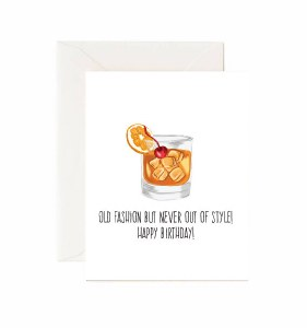Jaybee Designs Old Fashioned Birthday Card