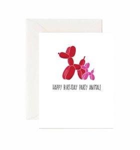 Jaybee Designs Party Animal Birthday Card