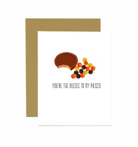 Jaybee Designs Reeses To My Pieces Card