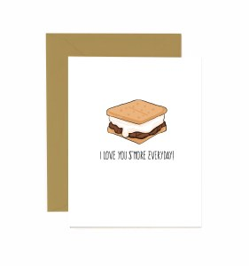 Jaybee Designs Love You S'More Everyday Card