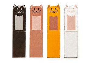 Kikkerland Magnetic Cat Bookmarks