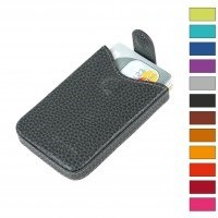Laurige Leather Business Card Holder