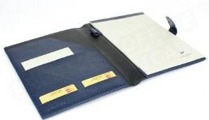 Laurige Leather Portfolio with Tab Closure